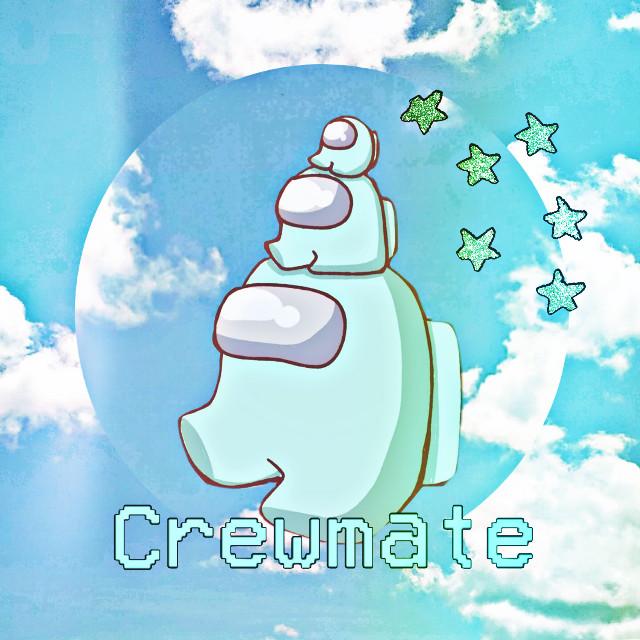 #amongus #cyan #amonguscyan #aesthetic #cute #pretty #cool  #crewmate #minicrewmate #tinycrewmate #love #crew