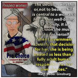 ruthbaderginsburg supremecourt justice prochoice women freetoedit