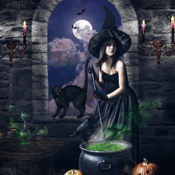 halloweenfun halloweenedit witch witchesbrew spellsandpotions witchinghour witchyvibes fxtools fxeffects freetoedit