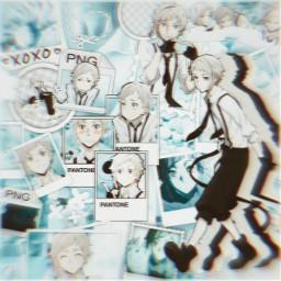 anime manga otaku japan weeb bsd bungou stray dogs bungoustraydogs atsushinakajima atsushi nakajima nakajimaatsushi dazai tiger animeboy animeboys freetoedit