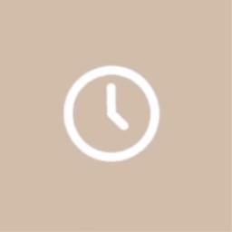 clock appicon beigeappicon