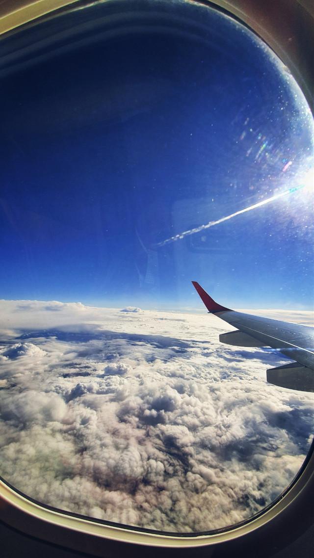 #upintheair #upinthesky #clouds #sun #love #airplane #travel #beginningtobloom