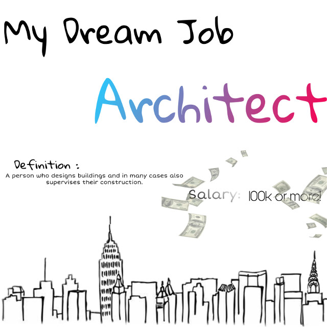 #architecture #dreamjob