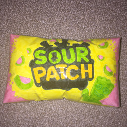 freetoedit sour sourcandy sourpatchkids watermelon candy like yellow green pink black papersquishy repost follow squishy craft papersquishie papersquishes sweets