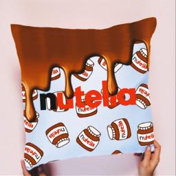 nutella chocolate love aesthetic brown like follow ircdesignapillow designapillow freetoedit