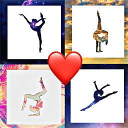 gymnastics gymnast collage tookforever pretty love