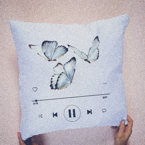 #aesthetic,#pillow,#design,#spotify,#butterfly,#ircdesignapillow,#designapillow,#freetoedit