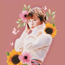 コラージュ collge 花 flower bloom picsart madewithpicsart picsartedit