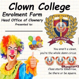 clown circus join wtf