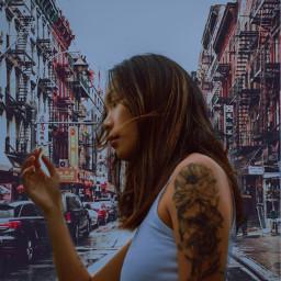 freetoedit ciudad woman mujer paisajes