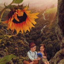 friend friends surreal fauspre madewithpicsart heypicsart madebyme myedit editbyme childrenportraits freetoedit