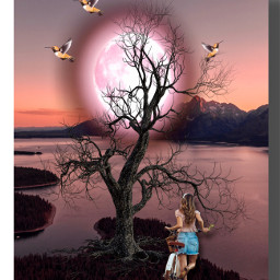 top fantasy sunset imagination october freetoedit