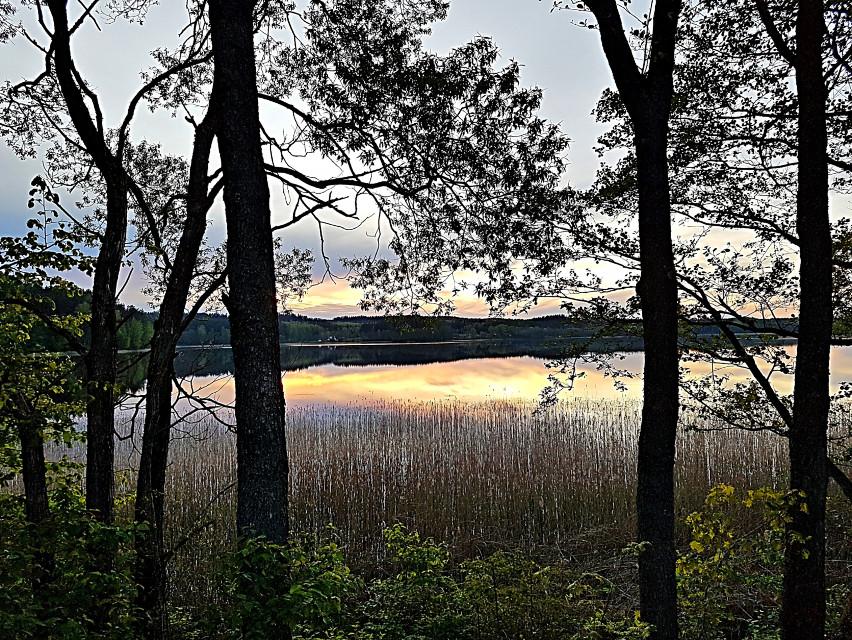 #sunset #lake #nature #landscape #naturephotography  #freetoedit