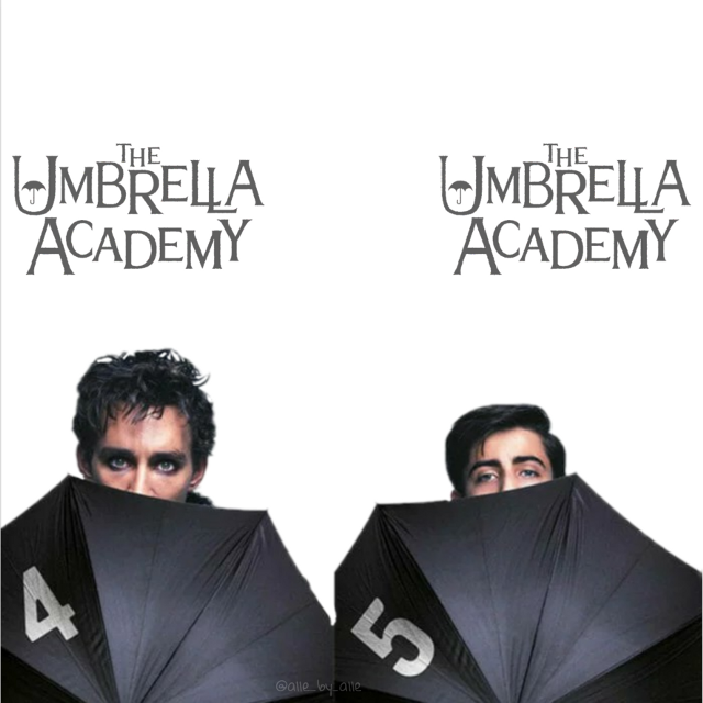 #theumbrellaacademy #brothers #freetoedit