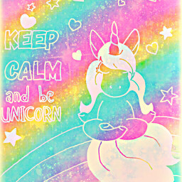 freetoedit glitter sparkle galaxy sky stars rainbow hearts keepcalm unicorn love pastel quotes sayings cute kawaii vintage background overlay