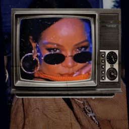 challenge rihanna queenriri filter tv sweater glasses earings srcsmallscreen smallscreen