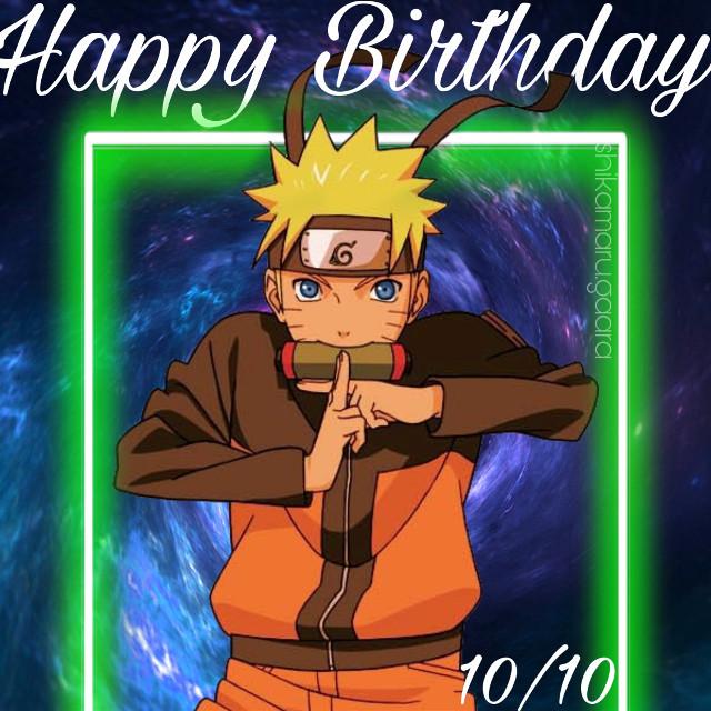 Happy Birthday Naruto!!!! Best Hokage ever! #naruto #narutoedit #narutoedits #narutouzumaki #naruto_uzumaki #narutoshippuden #naruto_shippuden #narutobirthday #october10 #october10th #uzumaki #uzumaki_naruto #uzumakiclan #uzumakinaruto #uzumakifamily #uzumakiedit #narutoanime #animenaruto #animebirthday #animenarutoshippuden #hiddenleaf #hiddenlake #shinobi #hokage #hokagenaruto