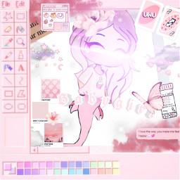 gachalife kawaii pink nyah cute freetoedit