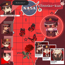 hanako-kun toiletboundhanakokun anime freetoedit hanako