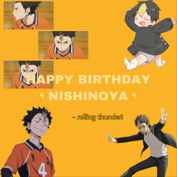 anime nishinoya haikyuu freetoedit