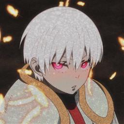 sho fireforce anime cute glitter sweet fire lol freetoedit