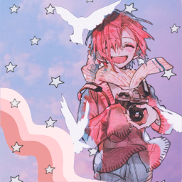 freetoedit mitsubasousuke toiletboundhanakokun anime waveaesthetic