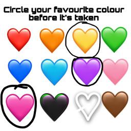 circleit colors heart emoji heartemoji favcolor freetoedit