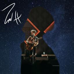 galaxy freetoedit zachherron zach herron silhouette imzachherron stage guitar performance singer