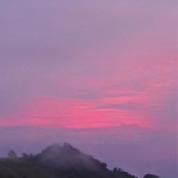 sky foggynight fog photography sunset freetoedit