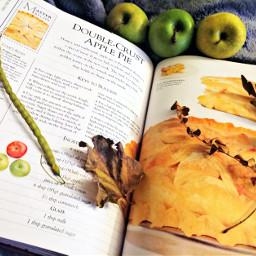 pcautumnflatlay autumnflatlay fallmood cookbook apples