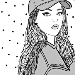 mydrawing outlineart outline outlinegirl outlines drawing lorengray celebrity colorme freetoedit