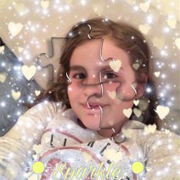 sparkle puzzled srcpuzzlepieces puzzlepieces freetoedit