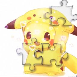 pika pikachu pikapika pikachulover défi defi concours puzzle piece pièce puzzlepieces puzzlepiece puzzleart pikacute pikachukawaii pikachuu pikachulove pikachuforever srcpuzzlepieces freetoedit