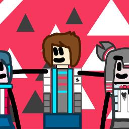 objectshowfan2003sanimations red blue black white yellow lightyellow lightblue pink redpink pinkred thumbnail thumbnailyt thumbnailformyvideo thumbnailforyoutube youtubethumbnail freetoedit