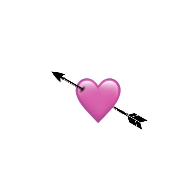 #heart #arrow #iphone #emoji #iphoneemoji #iphonestickers #pink #black #pinkheart #blackheart #heartcrown #halloween #pinkhalloween #blackhalloween #cute #clouds #picsart