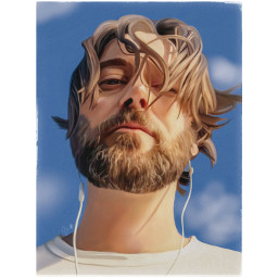 digitalpainting portrait closeup freetoedit ryaneggold