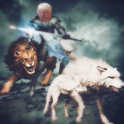 wolf lion warriors trump2020 legalizefreedom