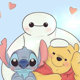 stitch love pooh baymax freetoedit eczoombackgroundsvibes zoombackgroundsvibes
