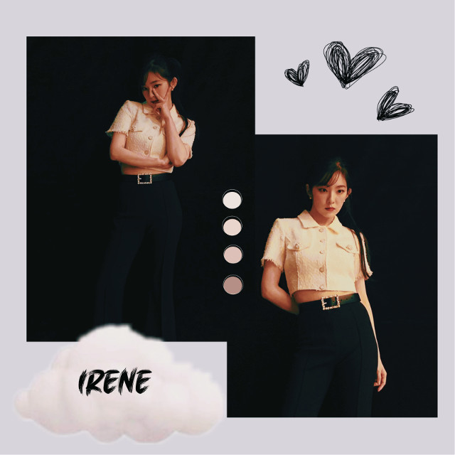 @iwantramyeon @nctinthehouse_05 @k-pop_05  Here is an idea of irene. I hope you like it🤍🖤 have a great night/day and stay healthyyy✨ #irene #redvelvet #reveluv