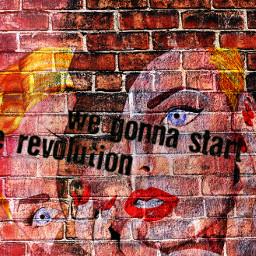 revalution we startarevolution bricks urban urbanart seperation freetoedit