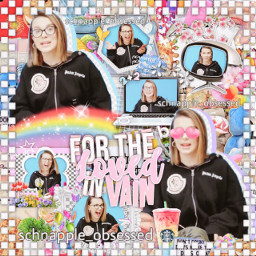 milliebobbybrown millie bobby brown mills colorful red orange yellow green blue purple pink white black overlay complex complexoverlay complexedit edit memes godzilla godzillakingofthemonsters glasses elevenhopper schnapple_obsessed freetoedit