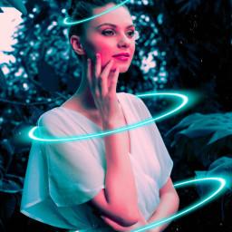 freetoedit cybereffect neon cyber edited