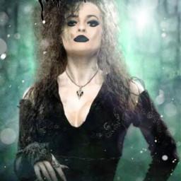 badgirl potterhead bellatrix freetoedit