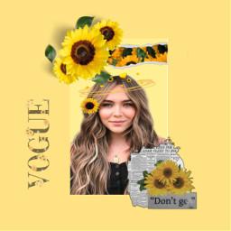 kouvrannon sunflower vougue freetoedit