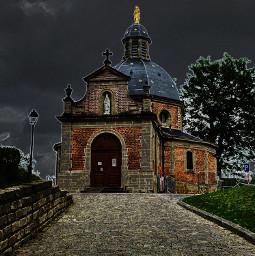 belgium flandre geraardsbergen slope chapel