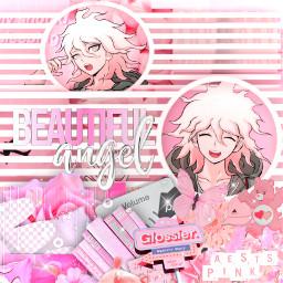 freetoedit nagitokomaeda danganronpa danganronpa2goodbyedespair superdanganronpa2 pink pinkaesthetic complexedit