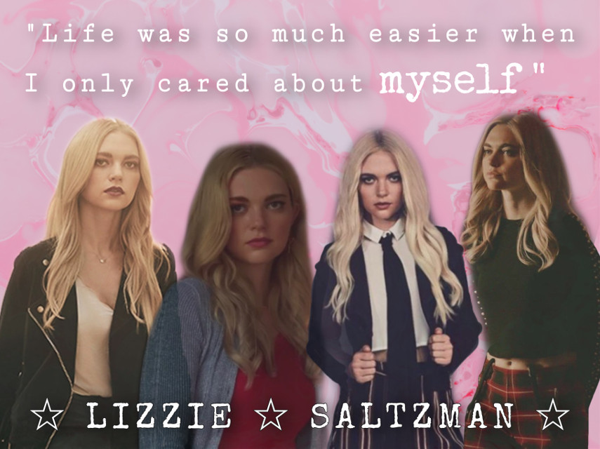 Lizzie 👑👑👑 Q: The Vampire Diaries, The Originals, or Legacies? A: I like The Originals the best, but I haven't finished it yet. I just finished season 3. I love Legacies too even though it can be a bit cringey sometimes. #legacies #cwlegacies #lizziesaltzman #geminitwin #saltzmantwins #saltzman #lizzie #quote #quotes