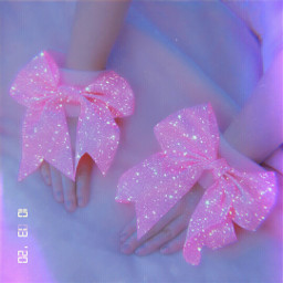 papicks picsart pink aestheticedit aesthetic aesthetics glitter flower aestheticpink neon pinkaesthetic pinky girly cute heypicsart madewithpicsart drink water juice pinterest bowtie freetoedit