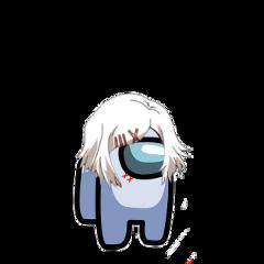 juuzousuzuya tg tokyoghoul tokyo ghoul suzuya reisuzuya rei white amongus among us anime meme freetoedit
