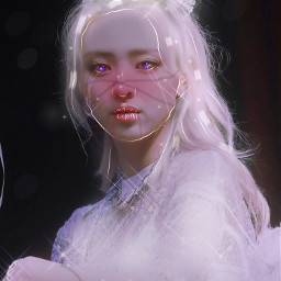 yuna manipulation halloween october crown sparkles ibispaintx manip aesthetic blm itzy notshy
